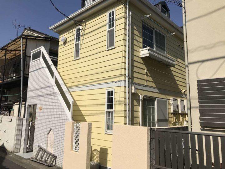 外壁塗装 Pマンション