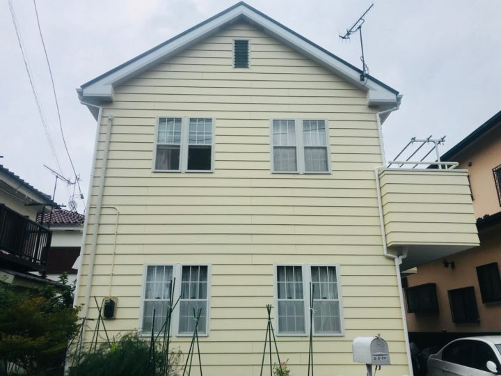 平塚市 H様邸 外壁・屋根塗装工事