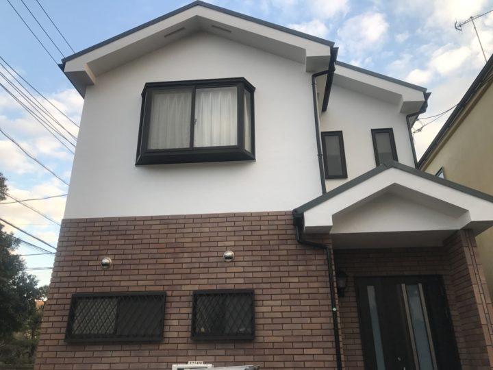 藤沢市 K様邸 屋根カバー工法・外壁塗装工事