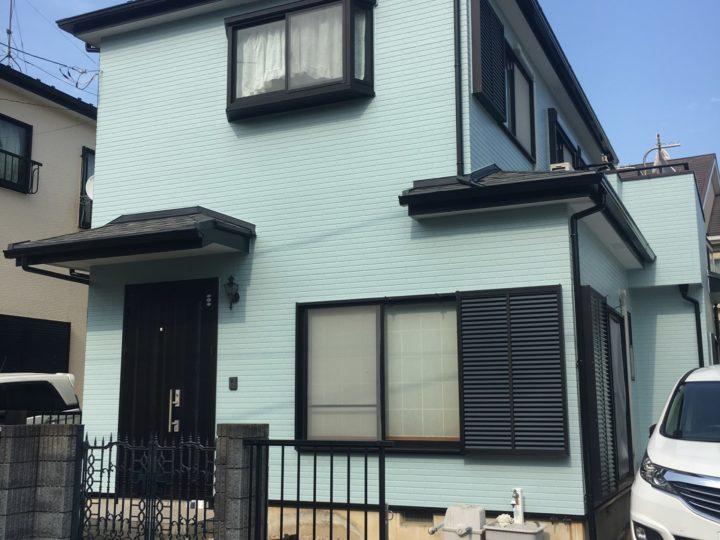 厚木市I様邸 外壁・屋根塗装工事