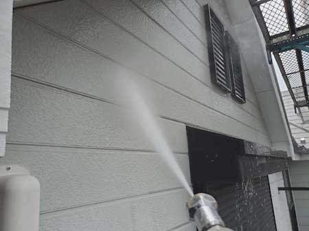 高圧洗浄 外壁