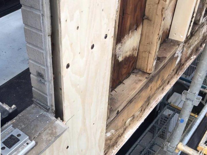 既存木材交換